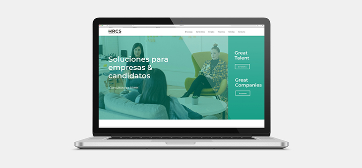 Queremos compartir contigo nuestra nueva web HRCS